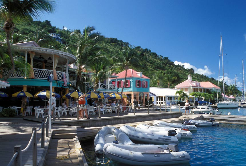 Sopers Hole Marina, West End BVI by Mark Goebel (CC BY-ND 2.0) ih1282.JPG
