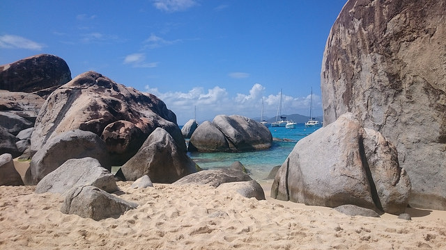 The Baths of Virgin Gorda BVI